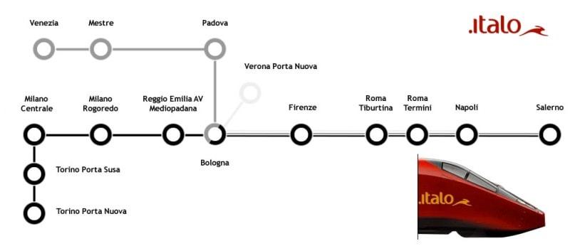Italo_Treno_Trenes_Italia_Mapa_Rutas