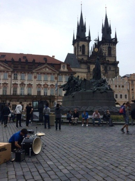 Praga_Busking