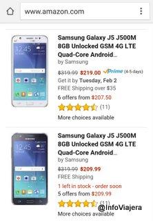 Amazon-Telefono-Celular-Samsung-Galaxy-J5-Precios-USA