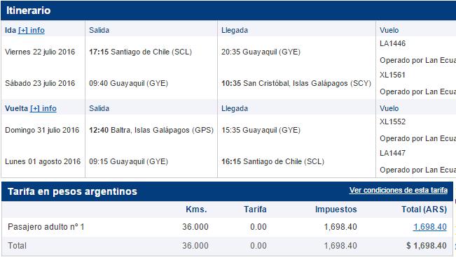 Lan_Lanpass_Canje_Galapagos_desde_Chile_Vacaciones_Julio_2016.07_Detalle