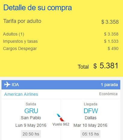 American_Airlines_Despegar.com_Cargo_Gestion.