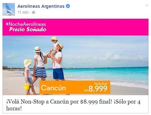 Aerolineas_Argentinas_Cancun_Promo_Relampago_2016.05.05