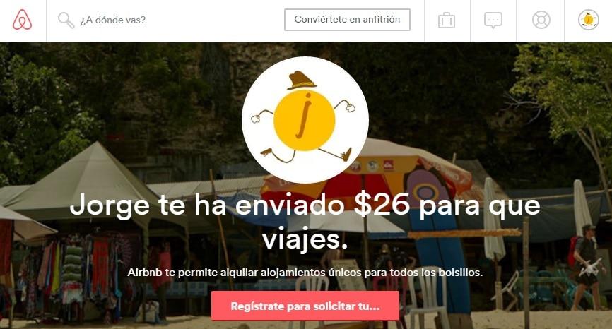 Airbnb_Cupon_Credito_USD_26_Primera_Reserva_Alojamiento_Descuento