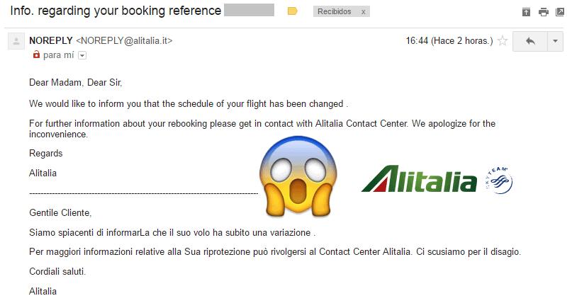 Alitalia_Cancelacion_Vuelo_Emitido_Millas_Smiles_2016.05
