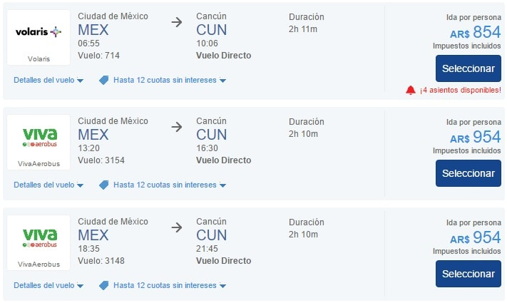 Comprar_Vuelos_Internos_Mexico_Pesos_Argentinos_Cuotas_BestDay