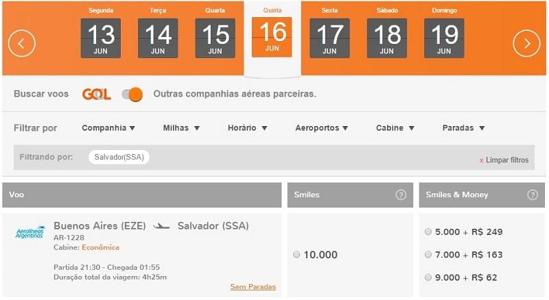 Smiles_Aerolineas_Buenos_Aires_Salvador_Bahia_Millas