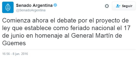 Comienza_Debate_Senado_Feriado_17_junio_Güemes