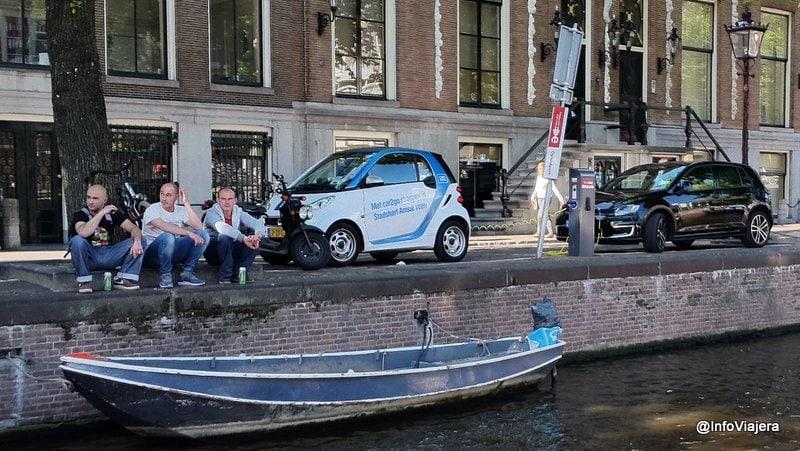 Crucero_Canales_Amsterdam_Auto_Electrico_Amigos