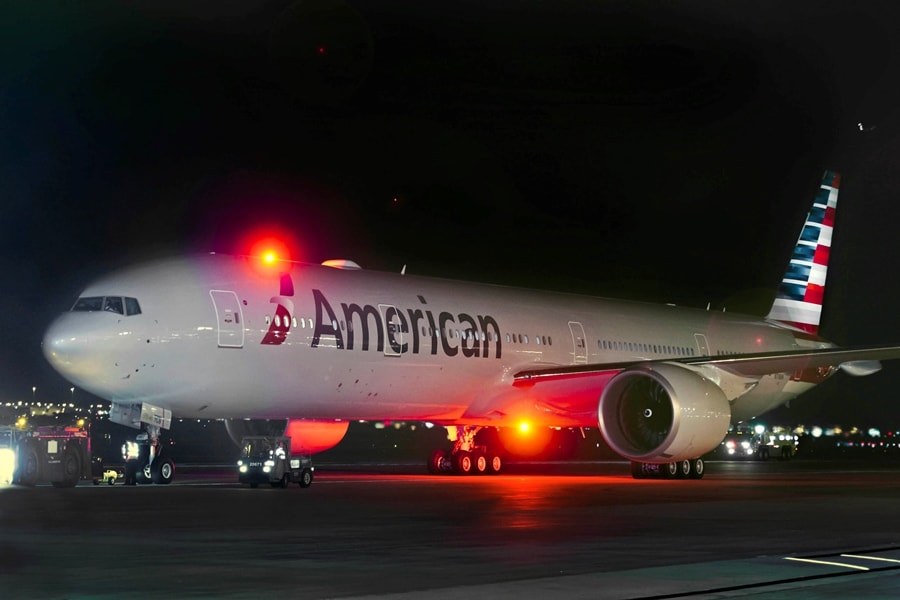 American 777-300ER with New Livery