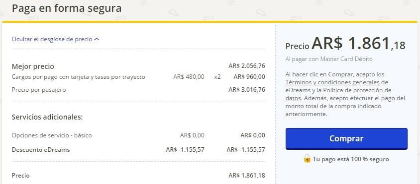 edreams_ar_precio_final_variable_venecia_londres_cambia_desglose_tasas